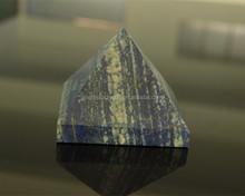 Affascinante piccola lapislazzuli cristallo piramide/lapislazzuli pietra scolpita piramidi