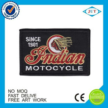 Hot design motorcycles badge custom embroidery patches