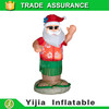 Top quality custom cheap large inflatable christmas product 180cm santa claus party decoration