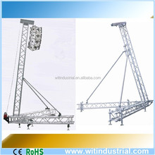 5-8m outdoor aluminum Line Array Tower System