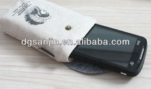 new jute gunny wallet for iphone 5