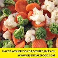 IQF FAST FROZEN california mixed vegetable