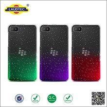 2015 Luxury 3D Rain Drop Design Hard Case for blackberry z3