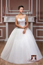Nueva colección italia diseño del vestido de bola de la boda vestido de novia / vestido de novia