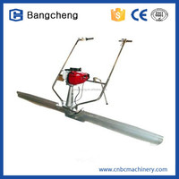 gasoline concrete floor level machine/concrete vibrator screed with CE