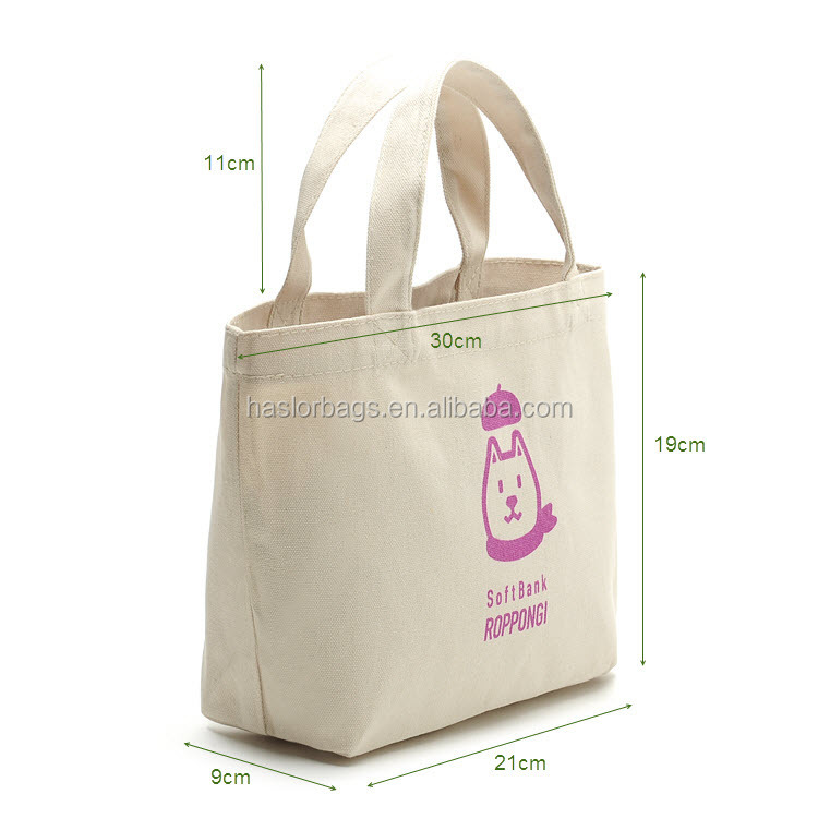 2015 Hot vente durable toile sac à lunch pour bureau