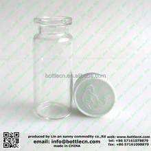 medical 5ml glass tube bottles for hcg injection