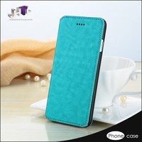 New Style Smart Phone Leather Flip Cover Case