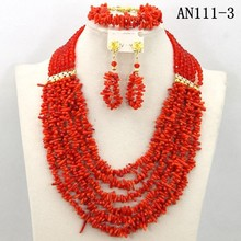 Latest design jewelry set factory wholesale good price beads jewelry set for african ladies/wine wedding jewelery designs