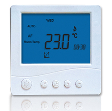 4 period programmable LCD digital backlight room thermostat