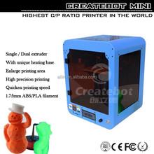 2015 fast shipping 3d printer used model diy kit 3d printer used abs pla plastic 3d printer used