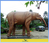 outdoor playground animated animal elephent for sale