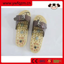 Wood Foot Slipper Massaging Shoe
