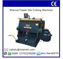 High Quality CE Standard Die Cutting and Creasing Machine/Paper Die Cut Machine/Die Cutting Machine