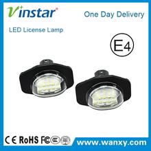 Car parts 18SMD 3528 High brightness led number plate light LED license plate lamp for Toyota Alphard