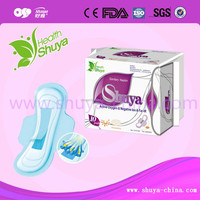 import china goods to usa Bamboo charcoal bio anion sanitary pad