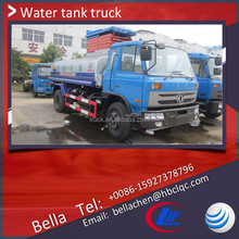 10-15 tons DONGFENG water truck, mobile water tanker transport truck, water wagon