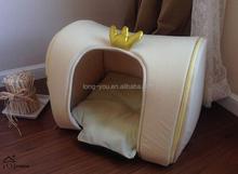 crown design pet cheap doghouse / pet bed tent / dog house
