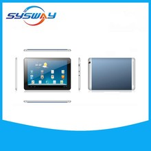 Popular top shenzhen tablet pc 10 inch Dual core android OS, DDR 1GB/8GB flash, 1024*600 capacitive screen