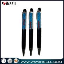 promotion gift pen 3d pvc floating plastic ball pen