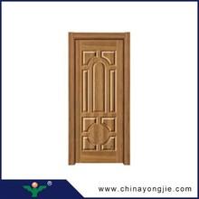 Yongkang últimas simple diseños de puertas puerta de madera del dormitorio