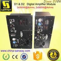 D1&D2 Class D Digital Active Amplifier Module with DSP