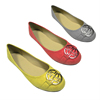 Fashion lady flat dance shoes round toe office casual shoes women