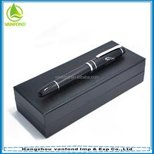 High specification engraved logo jaguar metal pens