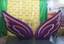 Performance decoration inflatable angel wings