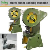 Galvanized steel bending and perforating machine metal clips making machine