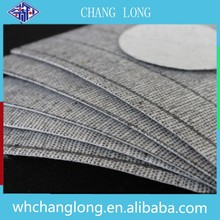 Nonwoven shoe material Stripe insole board material for Volleyball shoes making