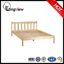 china factory cheapest West Elm Style Modern Asian Wood Bed,latest double designs King or Queen Bed Platform