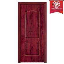 Diseño Simple puertas para interna o externa, por encargo de la fábrica de madera puerta de chapa