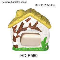 Ceramic hamster house , dolomite decorative hamster outdoor animal pets house