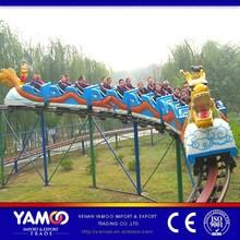 mini roller coaster dragon track train /amusement park equipment rides
