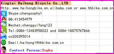 "high quality 20""freestyle BICYCLE approved ISO9001"