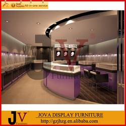 Blue-chip retail store design for jewelry store furniture