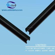 41 * 41 mm por inmersión en caliente galvanizado c canal /unistrut soporte de pared