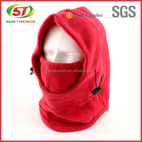 Best quality warm knitted sports polar fleece balaclava ski mask hat for winter