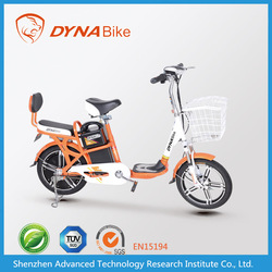 Chinese 2015 cheap & promotional electric scooter bike/ electric vehicle with pedal 48v 350w
