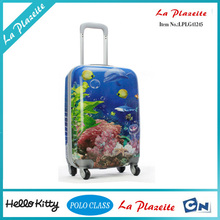 guangzhou manufacturer 3pcs set hard shell luggage, stock abs trolley suitcase factory price