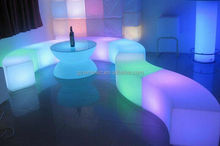 glow wedding and event led bar chairs/stool/LED Decoration lighting furniture