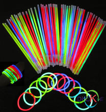Cheap neon slap bracelet glow in the dark
