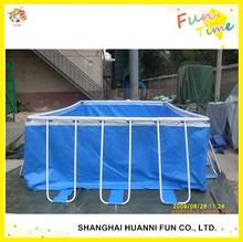 2015 High Quality metal frame swimming pool,metal wall swimming pool made in china