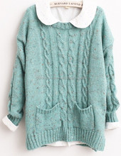Sweaters Autumn Japanese Mori girl students loose knit Pullover Jacket