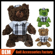 460 cc Golf Club Animal Head Cover, TEDDY BEAR Golf Covers, Unique & Best Golf Gift Custom Facoty