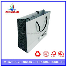 Customed cheap small paper gift bags with handles