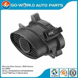 AUTO SENSOR, MASS AIR FLOW SENSOR FOR BMW 1,3, 5, 7, X3, X5, X6 0928400504 0928400529 13627788744