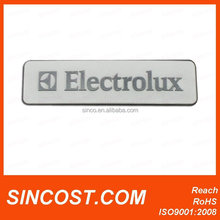 2015 3D custom logo cheap metal brand logo for company