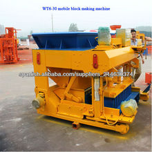 WT6-30 movable cement block machine